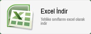 Excel Tehlike Sınıfları